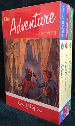 9780330524513: The Adventure Series three volume box set: The Valley of Adventure, The Castle of Adventure, The Island of Adventure
