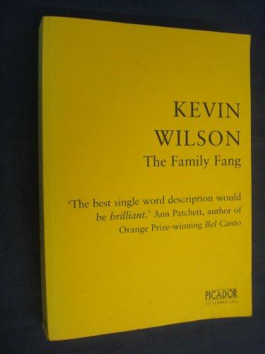 9780330545341: Family Fang