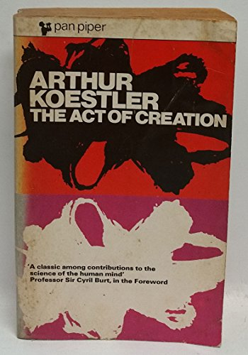 9780330731164: The Act of Creation (Piper)