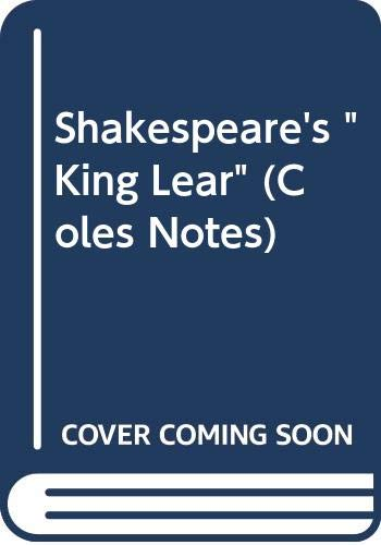 Shakespeare's King Lear (0330880071) by [???]