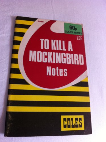 9780330880909: To Kill a Mockingbird: Coles Notes