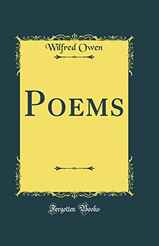 9780331915853: Poems (Classic Reprint)