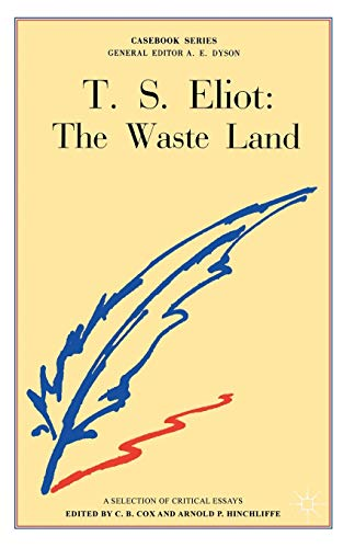 9780333003015: T.S. Eliot: The Waste Land (Casebooks Series)