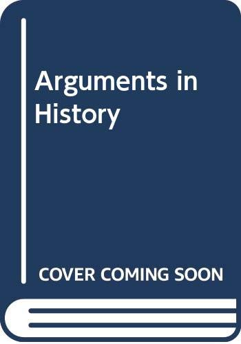 9780333003046: Arguments in History Britain in the Nineteenth Century