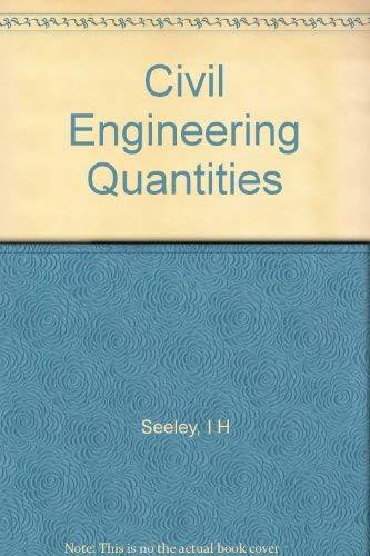 9780333005088: Civil Engineering Quantities