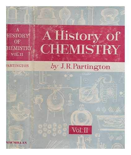 9780333009284: A History of Chemistry, Vol 2: [1500-1700]