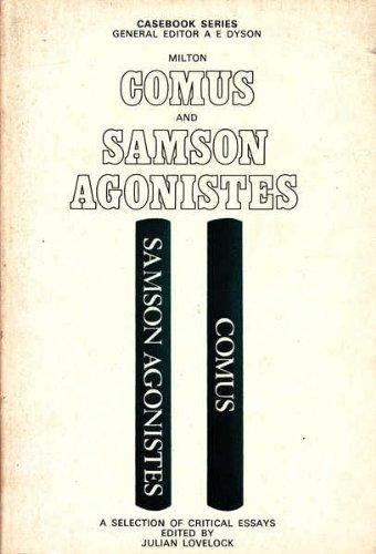 samson agonistes analysis