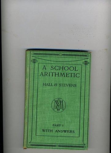 9780333014448: School Arithmetic: Pt. 1