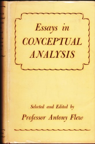 9780333016138: Essays in Conceptual Analysis