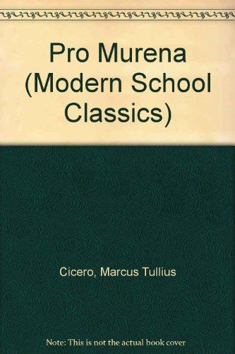 9780333017593: Pro Murena (Modern School Classics)