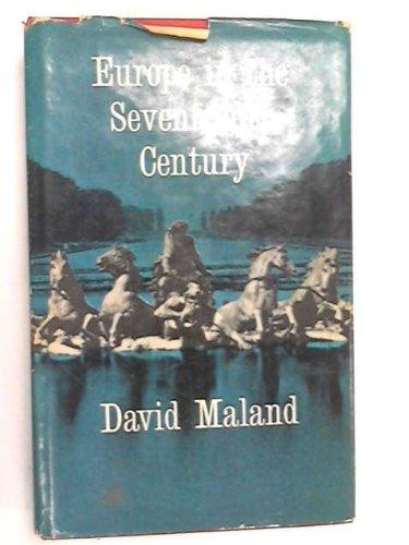 Europe in the Seventeenth Century.: David. Maland
