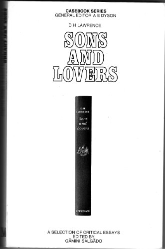 9780333023679: D.H. Lawrence: Sons and Lovers (Casebooks Series)
