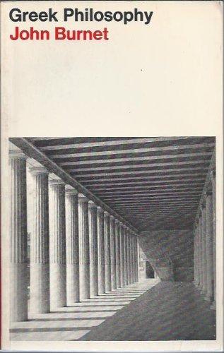 9780333023693: Greek Philosophy: Thales to Plato