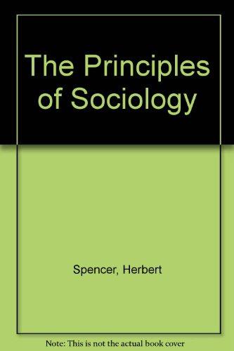 9780333023761: Principles of Sociology