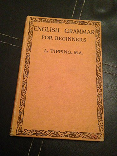 9780333029824: English Grammar for Beginners