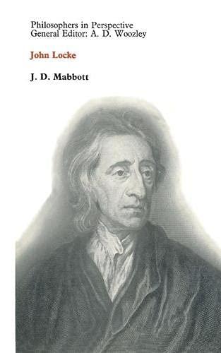 9780333031698: John Locke (Philosophers in perspective)