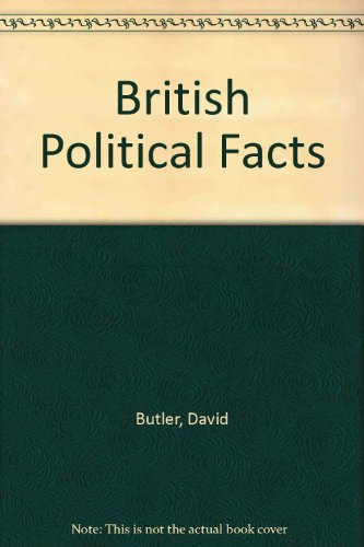 9780333033609: British Political Facts