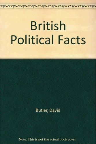 9780333033609: British Political Facts