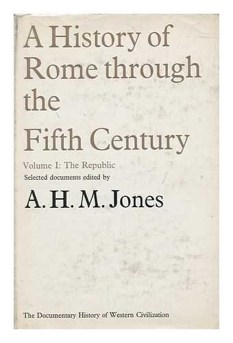 9780333037539: A History of Rome Through the Fifth Century Volume II: the Empire