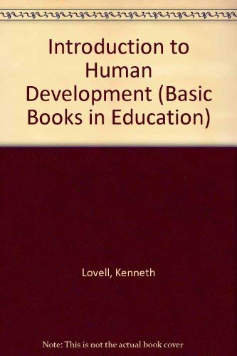 9780333039137: Introduction to Human Development (Basic Books in Education)