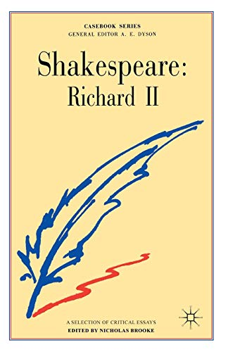9780333039373: Shakespeare: Richard II (Casebooks Series)