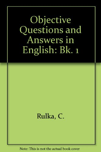 9780333039816: Obj Quests & Ans English Bk 1
