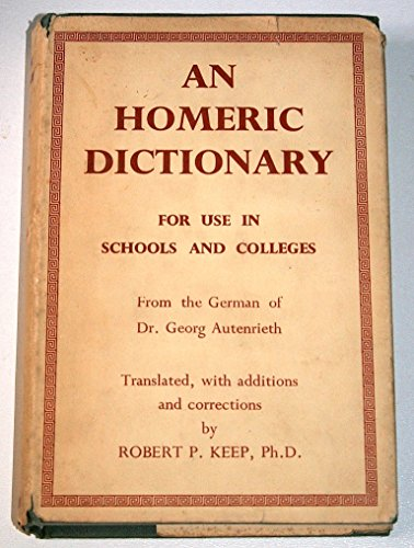 9780333045244: An Homeric Dictionary