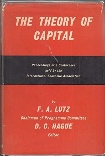 9780333045749: The Theory of Capital
