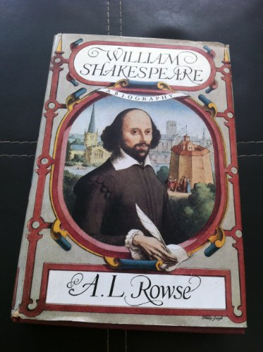 9780333047255: William Shakespeare: A Biography