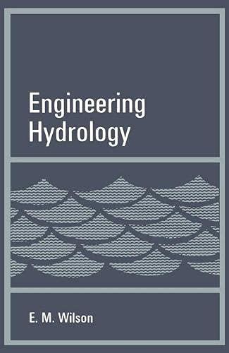 Engineering Hydrology: Wilson, E.M.