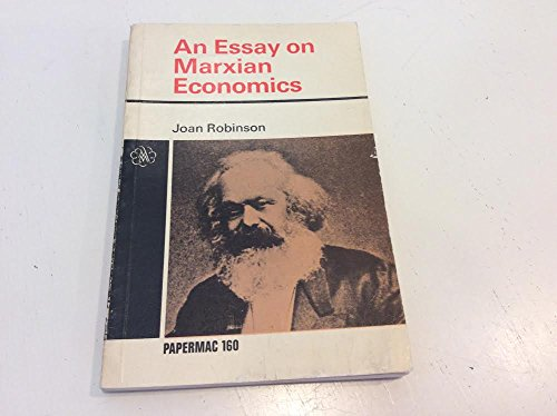 9780333058008: An Essay on Marxian Economics