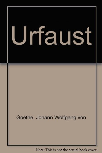 9780333060575: Urfaust