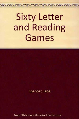 Sixty Letter and Reading Games (0333062086) by Jane Spencer