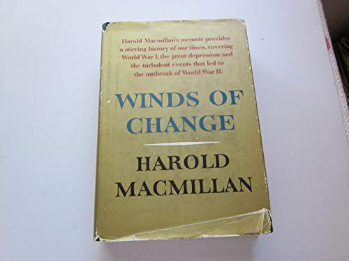 9780333066393: Winds of Change, 1914-39