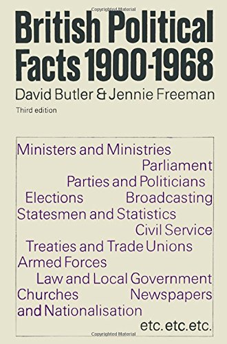 9780333070796: British Political Facts