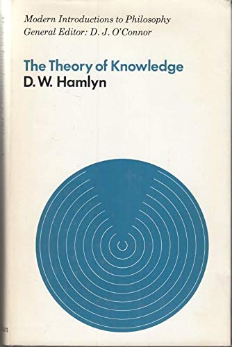 9780333071465: Theory of Knowledge (Modern Introductions to Philosophy)