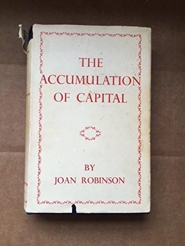 9780333072059: Accumulation of Capital