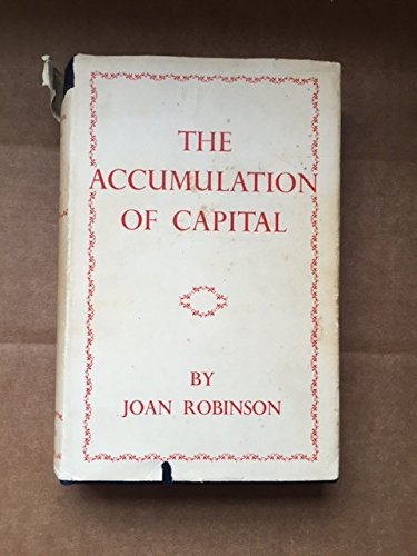 9780333072059: Accumulation of Capital