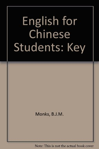 9780333074619: English for Chinese Students: Key