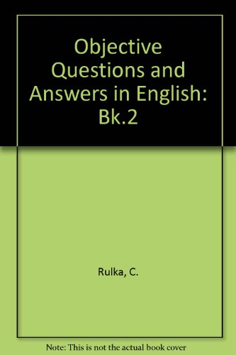 9780333077009: Obj Questions & Ans English Bk 2