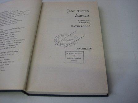 9780333082355: Jane Austen's