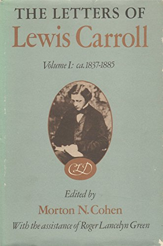 9780333089798: The Letters of Lewis Carroll Volume 1: ca. 1837-1885