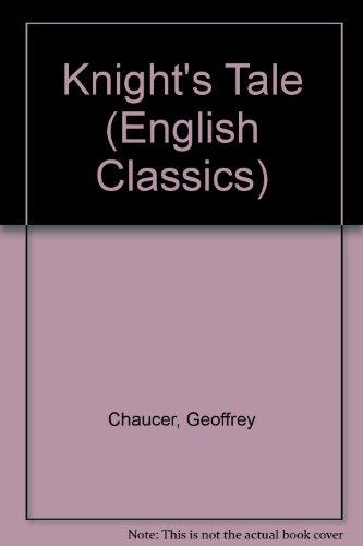 9780333093016: Knight's Tale (English Classics)