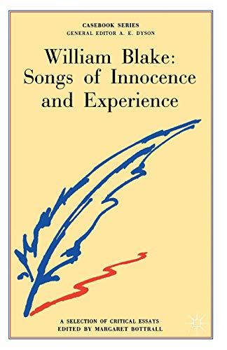 9780333093924: William Blake: Songs of Innocence and Experience (Casebooks Series)