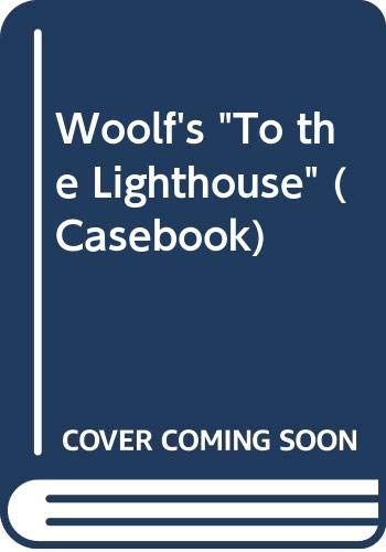 "9780333099704: Woolf's ""To the Lighthouse"" (Casebook)"