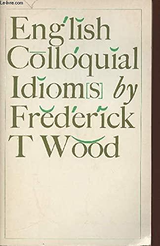 9780333102121: English Colloquial Idioms (ELT Grammar Reference Series)