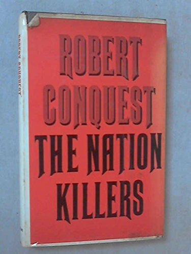 9780333105757: Nation Killers