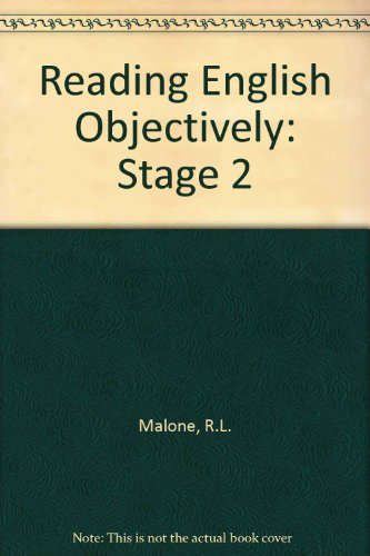 9780333107614: Reading English Objectively: Stage 2