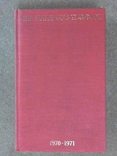 9780333108963: Statesman's Yearbook