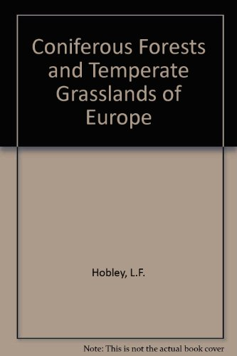 9780333109564: Coniferous Forests and Temperate Grasslands of Europe (Introducing Earth)